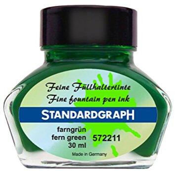 Standardgraph Fern Green inkoust kapradinově zelený