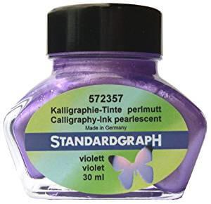 Standardgraph kaligrafický inkoust - Perleťová fialová