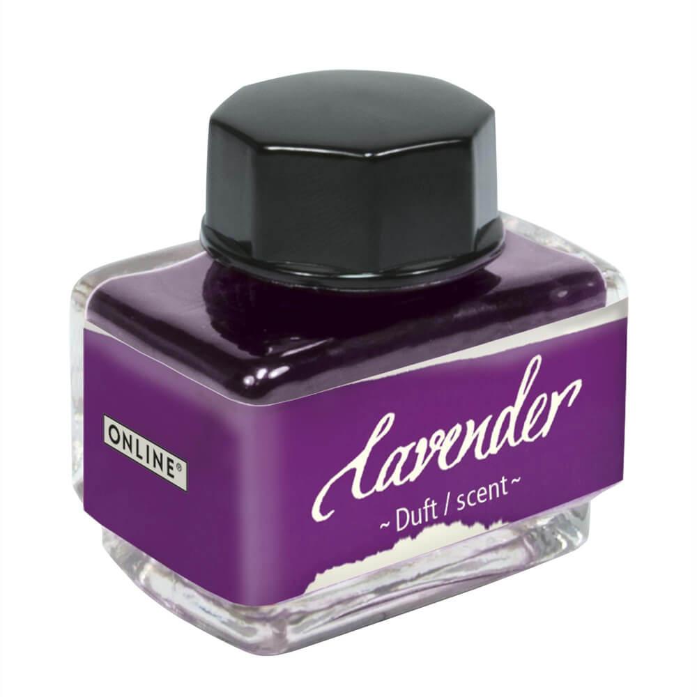 Online Lavender, fialový lahvičkový inkoust