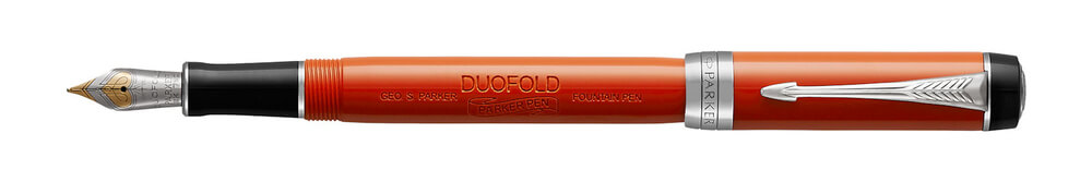 Parker Royal Duofold Big Red Vintage CT INT, plnicí pero