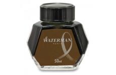 Waterman Havana, hnědý lahvičkový inkoust 50 ml