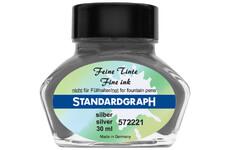 Standardgraph kaligrafický inkoust - Stříbrný 30 ml