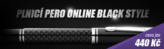 Luxusni-pera.cz - Plnicí pero Online Black Style